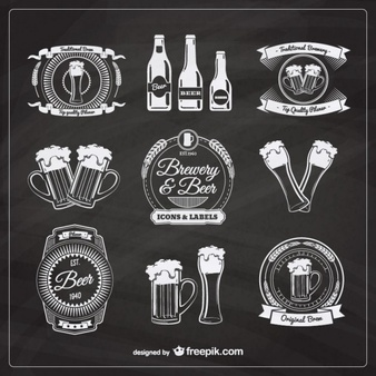 beer-badges-in-retro-style