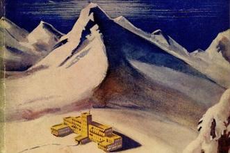 Ilustração a montanha magica