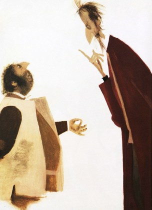 Ilustração dom quixote